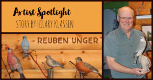 Artist Spotlight with Reuben Unger